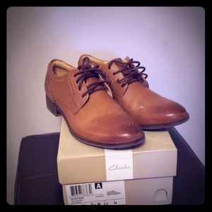 Clarks oxford shoes